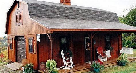 Amish Barn by These Amish Barn Homes Start At 11 585