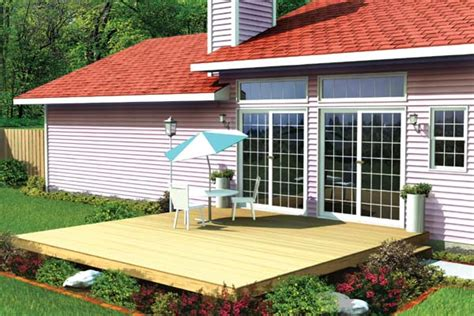 project plan 90001 easy patio deck