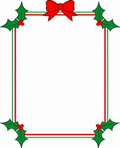 Holiday Border Clipart - Clipart Suggest
