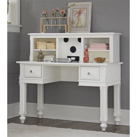 kids white desk with hutch ne kids lake house writing desk with hutch and chair in