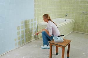 Farbe Für Fliesen : frischekur so renovieren sie ihr bad g nstig planungswelten ~ Watch28wear.com Haus und Dekorationen