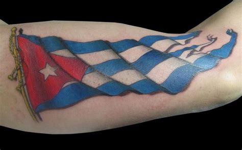 cuban flag tattoosnet badass tattoos pinterest