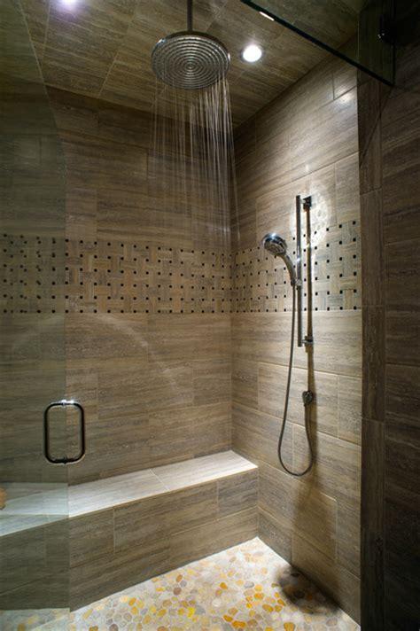 Modern Rustic Bathroom Tile by Caldera Rustic Modern With A Twist Of Industrial