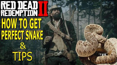 red dead redemption     perfect snake skin tips