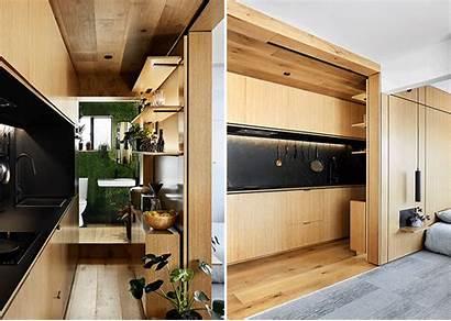 Apartment Tiny Melbourne Compact Wall Living Tsai