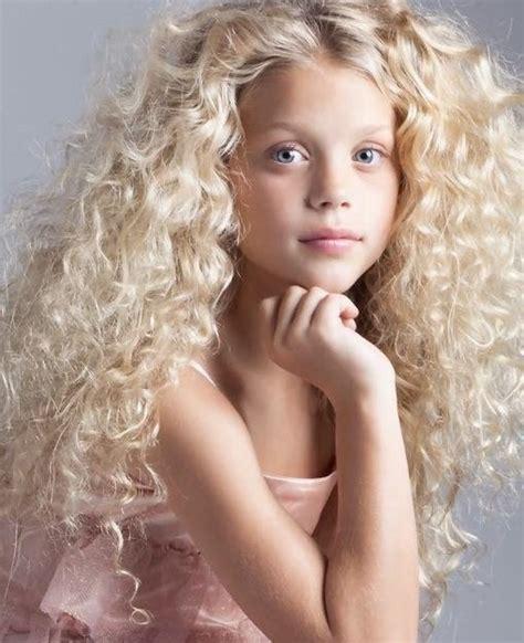 Petite Blonde Curly Hair Teen