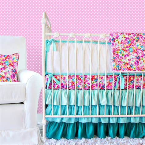 pink crib bedding pink and blue crib bedding for caden