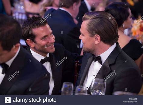 Bradley Cooper And Leonardo Dicaprio At The 71st Annual