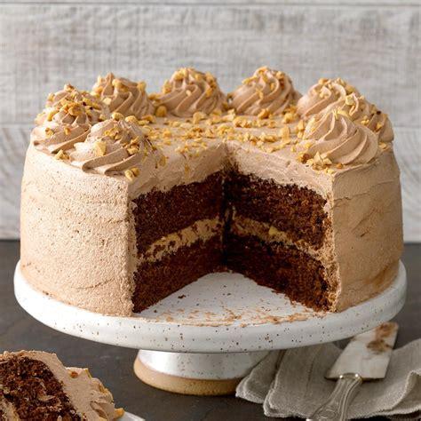Mocha Hazelnut Torte Recipe: How to Make It   Taste of Home