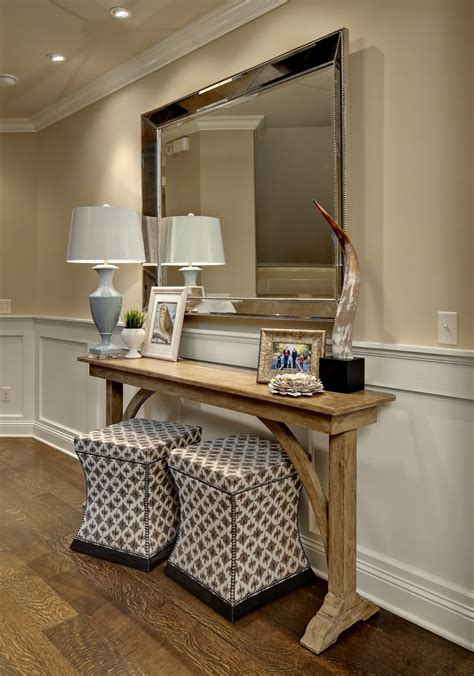 entry table design ideas delightful mirrored console table with drawers decorating