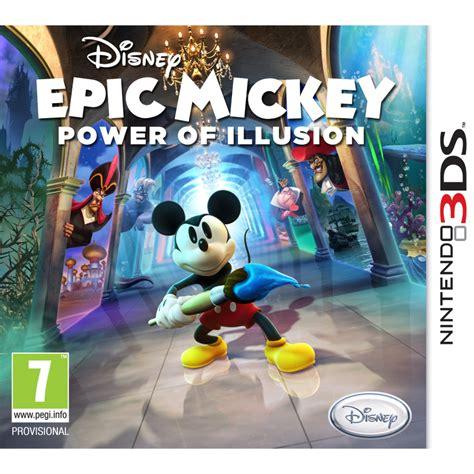 Epic Mickey Power Of Illusion Nintendo 3ds Zavvi