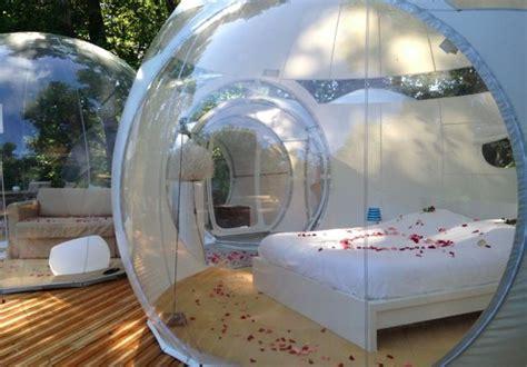 chambre bulle dans la nature gling à pompignac gironde 33 en aquitaine