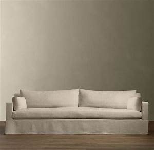 annals of bad design extra deep 39luxe39 sofas improvised With restoration hardware sofa bed