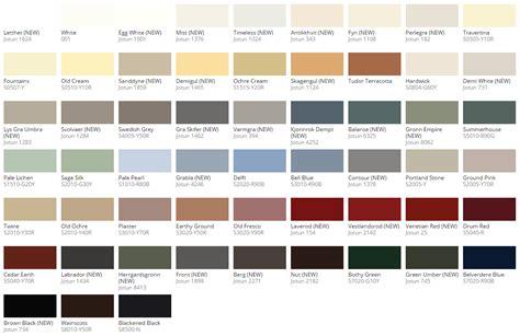 jotun demidekk colour chart 2017 apt 2 exterior wood