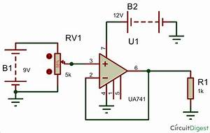 Voltage Follower Circuit Using Opamp