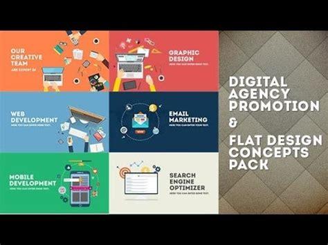 Digital Agency by Digital Agency Promotion Flat Design Concepts After