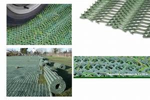 Dallage Exterieur Pour Passage Voiture : dalle pelouse passage voiture 15 terraweb strong est ~ Premium-room.com Idées de Décoration