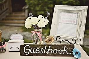 12 unique wedding guestbook ideas for Wedding table sign ideas