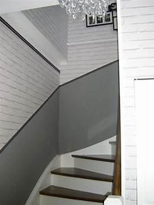 deco escalier couloir With decoration montee d escalier