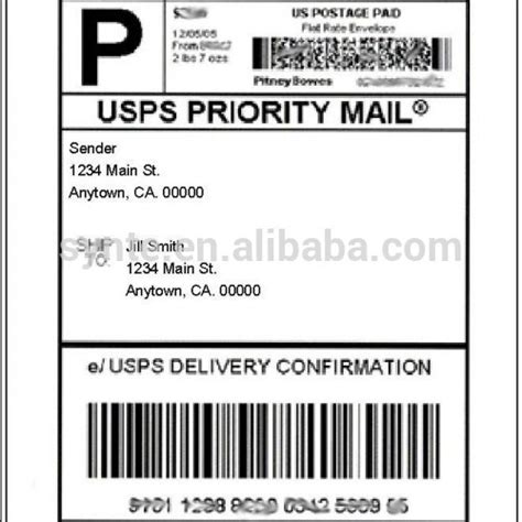 Print Shipping Labels Online Usps  Autos Post