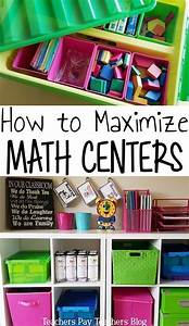 How To Maximize Math Centers