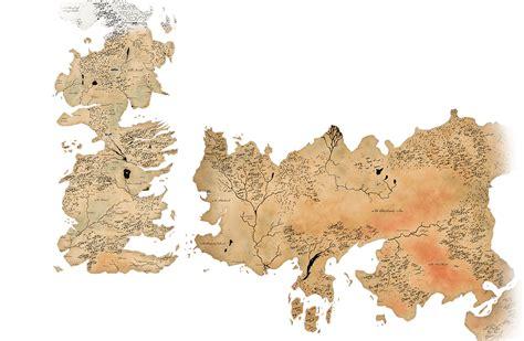 El Mapa Secreto De Juego De Tronos