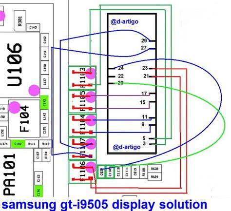 samsung i9505 galaxy s4 display light solution jumper problem ways