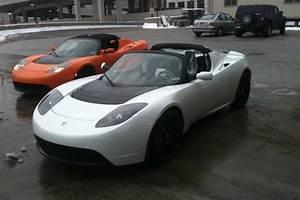 Tesla Roadster Occasion : salon de d troit 2010 tesla c l bre le 1000e roadster lectrique produit ~ Maxctalentgroup.com Avis de Voitures