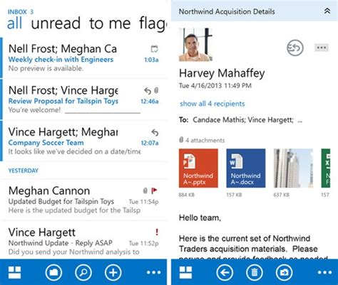 official outlook app for iphone and is here now redmond pie