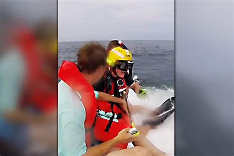 Sinking Boat Surrounded By Sharks by Lads Rescued From Sinking Ship In Shark Infested Water In