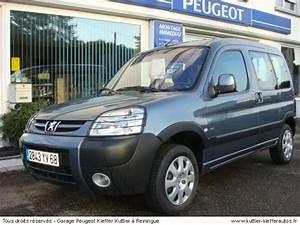 Partner Peugeot Occasion : peugeot partner 2 l hdi grand raid 2005 occasion auto peugeot partner ~ Medecine-chirurgie-esthetiques.com Avis de Voitures