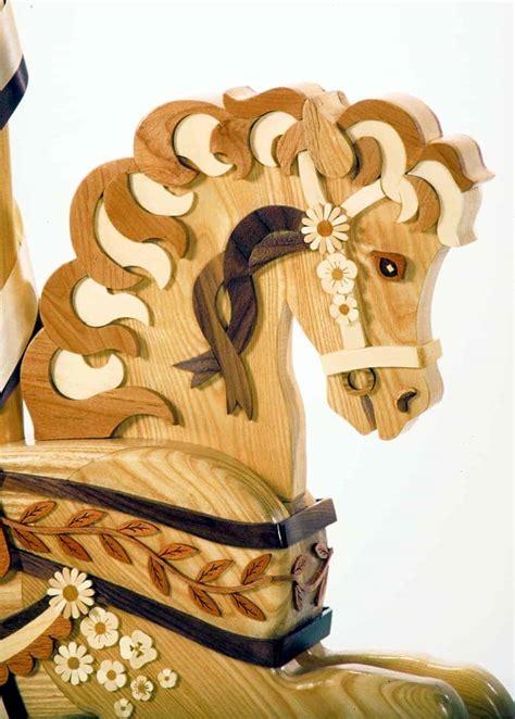 wildflower horse woodworking plan forest street designs
