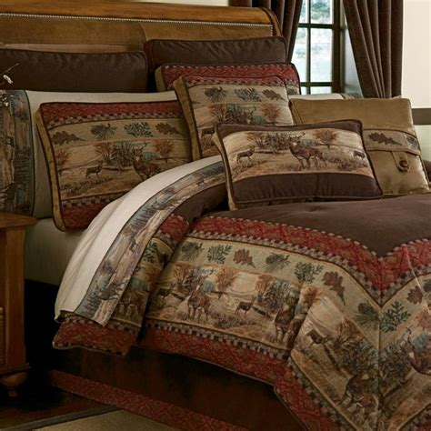deer valley comforter bedding  croscill comforters
