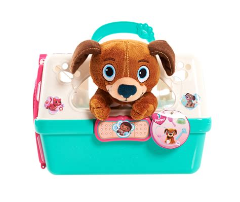 doc mcstuffins toys disney doc mcstuffins pet vet carrier playset brown pup