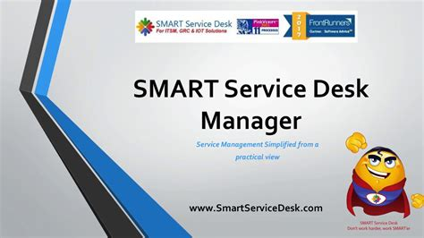 free service desk software itil smart service desk manager course overview and incident