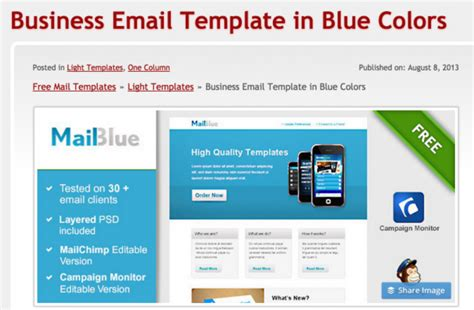 Free Email Templates Email Templates Free Cyberuse