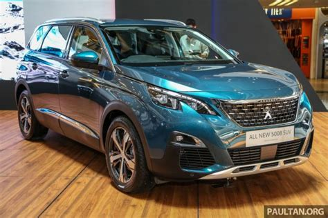 Peugeot Malaysia by 2018 Peugeot 5008 Launched In Malaysia Rm174k