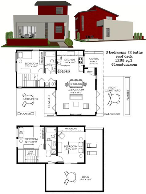home blue prints contemporary house plans the house plan shop free modern