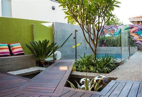 Kleine Moderne Gärten by Kleiner Garten Terrasse Ideen Modern Pool Garden