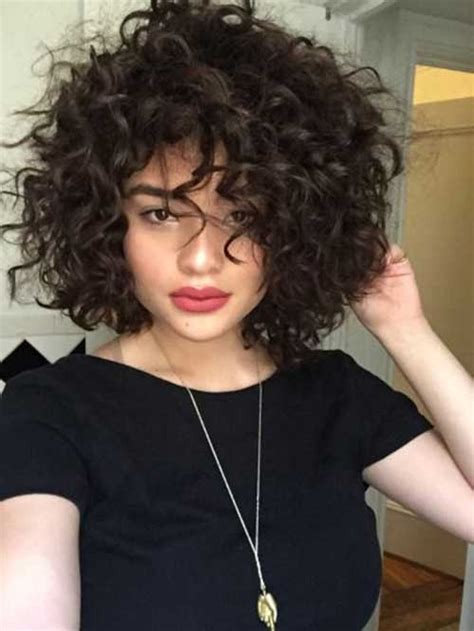 curly short hair pics  pretty ladies short hairstyles    popular short