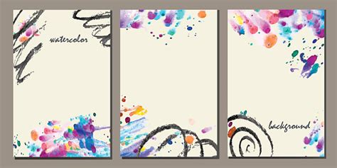 Set Of Templates Stock Illustration - Download Image Now ...