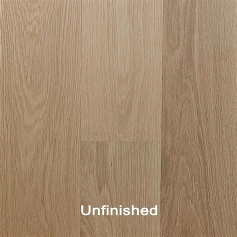 Unfinished Engineered White Oak Clear Hardwood Flooring