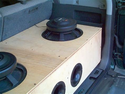 custom subwoofer box design how to match a subwoofer and an enclosure sonic
