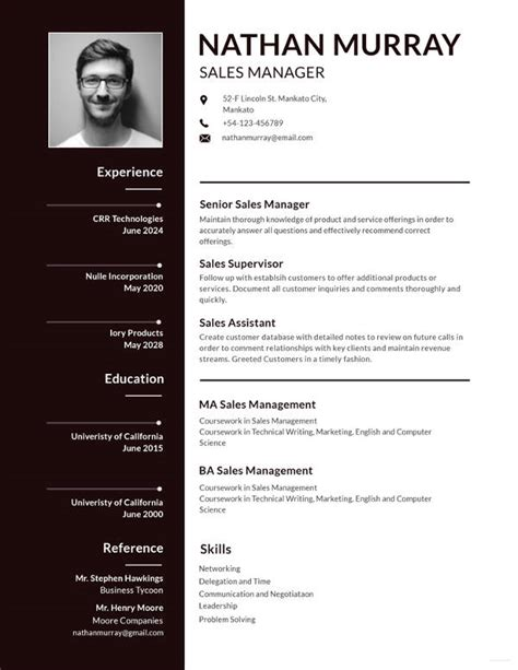 Cv Application Template by 15 Cv Format For Application Letter