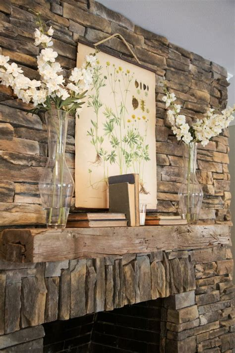 rustic living room wall decor 45 fireplace decoration ideas so can you the creative