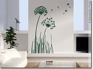 Wandtattoo Pusteblume Weiß : wandtattoo pusteblume selbstklebende wandfolie ~ Frokenaadalensverden.com Haus und Dekorationen