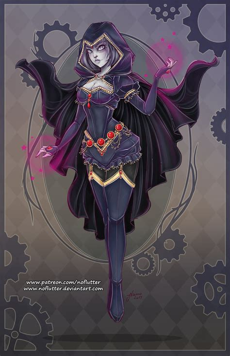Awesome Steampunk DC Superheroine Designs By NoFlutter