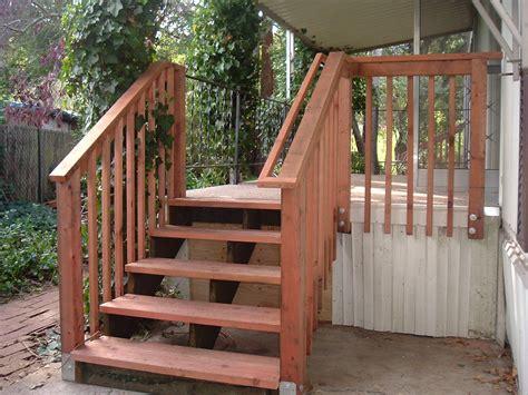 handrail  deck stairs joy studio design gallery