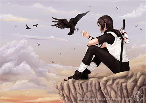 Lonely Raven By Jenova87 On Deviantart