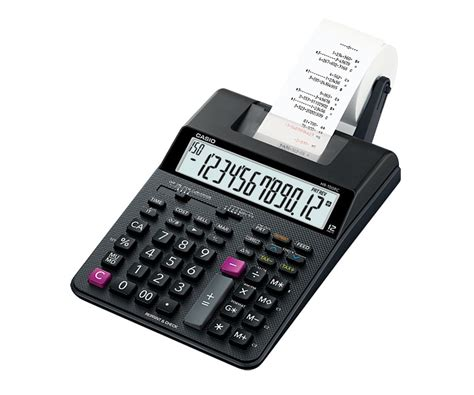hr rc printing calculators compact type mini